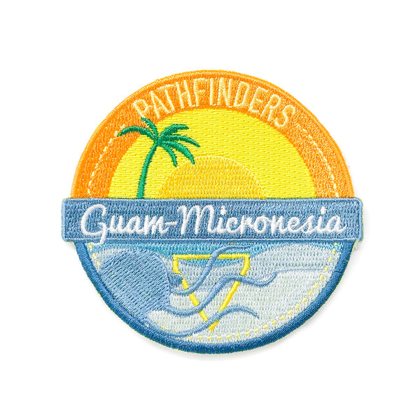 Guam-Micronesia Union Pathfinder 2019 Patch - Pinfinder Club