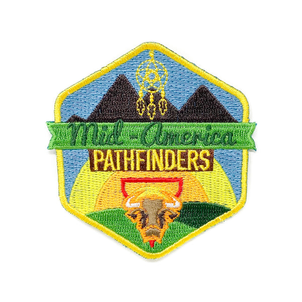 Mid-America Union Pathfinder 2019 Patch - Pinfinder Club