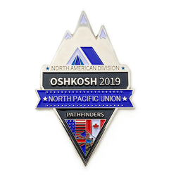 North Pacific Union Oshkosh 2019 Pin - Pinfinder Club