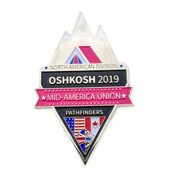 Mid-America Union Oshkosh 2019 Pin - Pinfinder Club