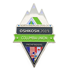 Columbia Union Oshkosh 2019 Pin - Pinfinder Club