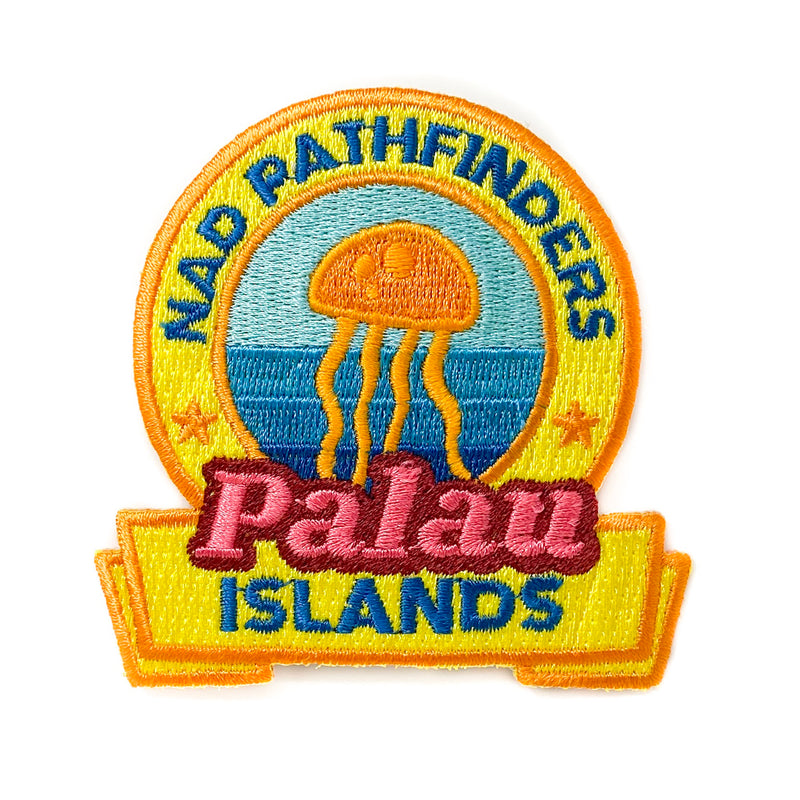 Micronesian Islands Pathfinder Patch (Palau) - Pinfinder Club