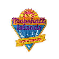 Micronesian Islands Pathfinder Patch (Marshall Islands) - Pinfinder Club