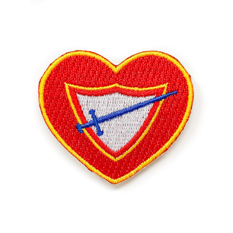 Pathfinder Club Heart Patch - Pinfinder Club