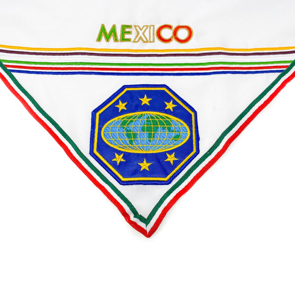 Mexico Master Guide Scarf & Slide (White) - Pinfinder Club