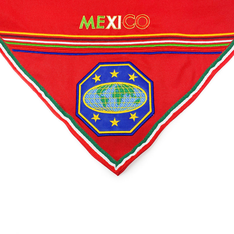 Mexico Master Guide Scarf & Slide (Red) - Pinfinder Club