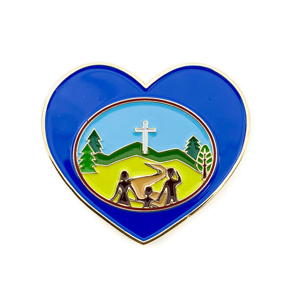Adventurer Club Heart Pin - Pinfinder Club