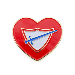 Pathfinder Club Heart Pin - Pinfinder Club