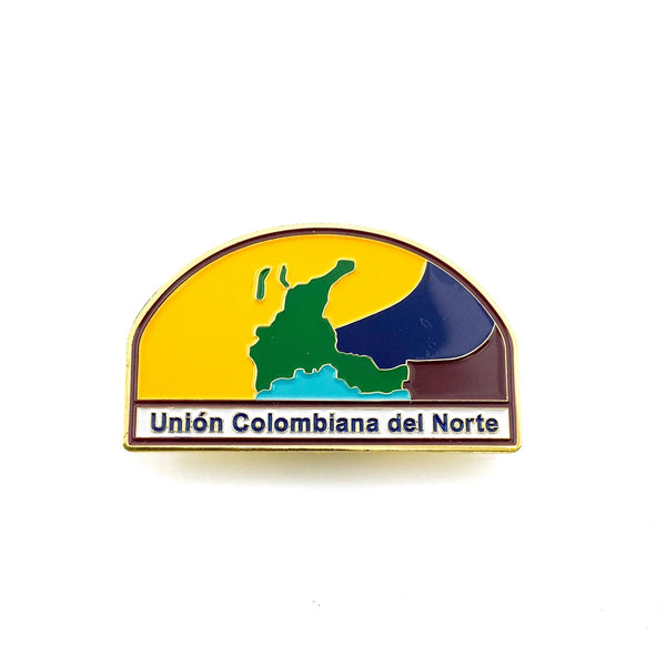 Union Colombiana del Norte Pin - Pinfinder Club
