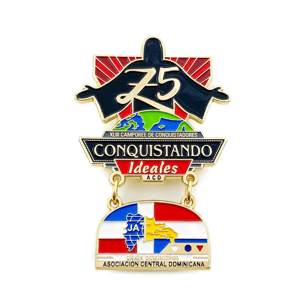 Conquistando Ideales ACD Pathfinder Camporee Pin - Pinfinder Club