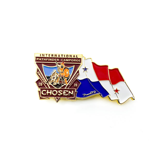 Chosen Flag Pin (Panama) - Pinfinder Club