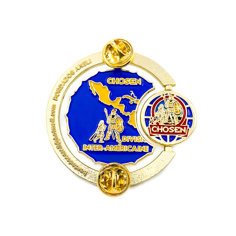 Chosen Interamerican Division Pin - Pinfinder Club