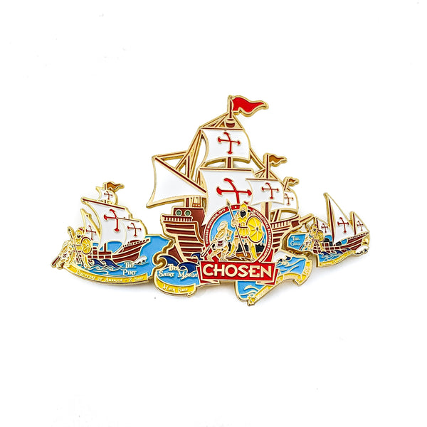 Chosen Boat 3 Pin Set (Bundle) - Pinfinder Club