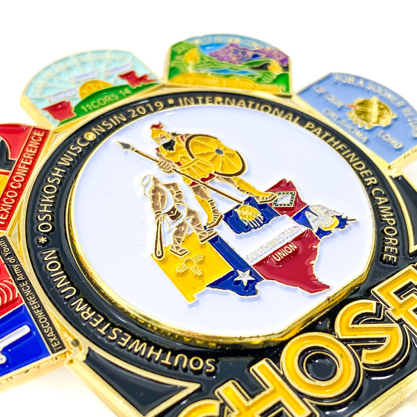 Southwestern Union Oshkosh Chosen 2019 Pin - Pinfinder Club