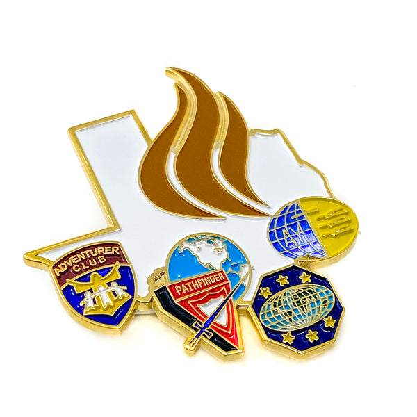Texas Youth Ministries Pin - Pinfinder Club