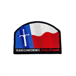 Texas Conference Army of Youth Pathfinder Patch - Pinfinder Club