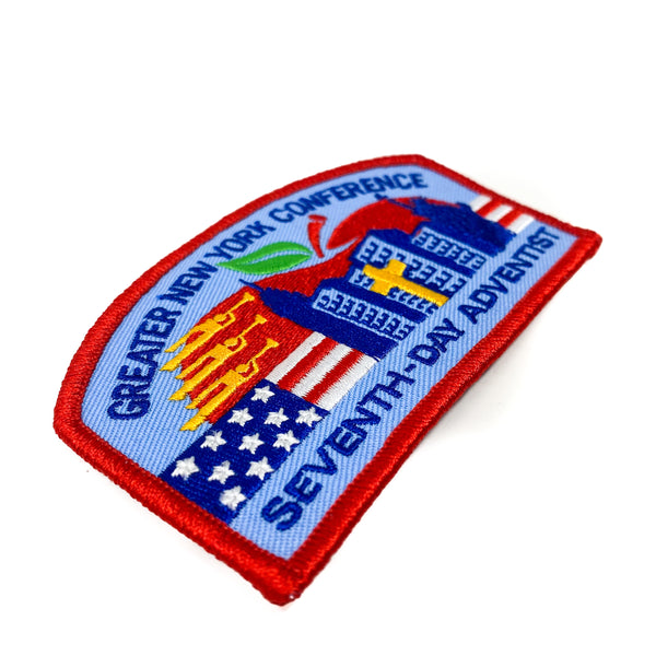 Greater New York Conference Pathfinder Patch (1984 Edition) - Pinfinder Club