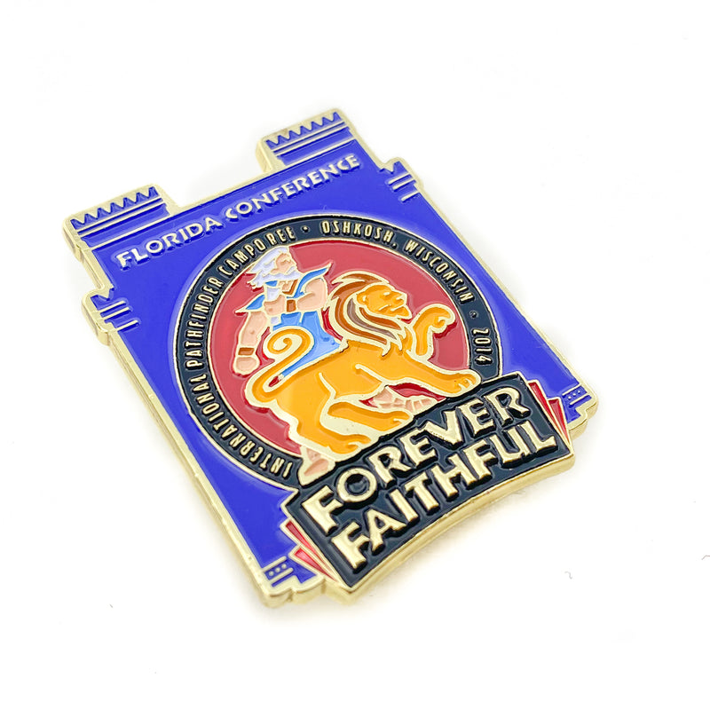 Florida Conference Forever Faithful 2014 Pin - Pinfinder Club