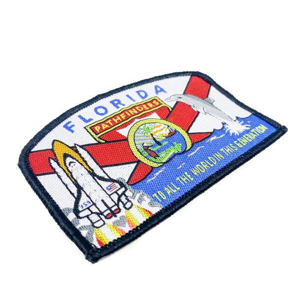 Florida Conference Pathfinder Patch - Pinfinder Club