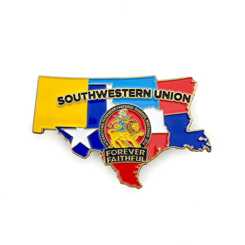 Southwestern Union Forever Faithful 2014 Pin - Pinfinder Club