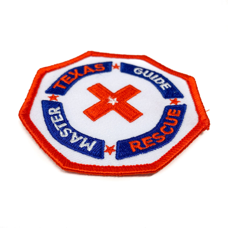 Texas Master Guide Rescue Patch - Pinfinder Club