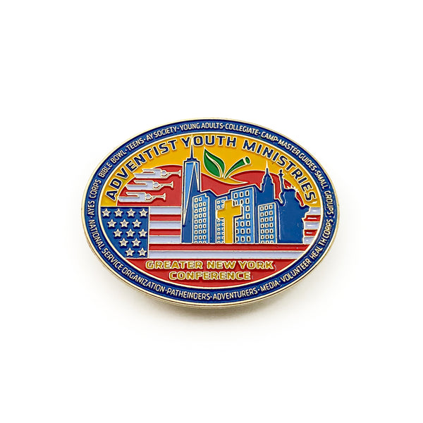 Greater New York Conference Youth Pin - Pinfinder Club