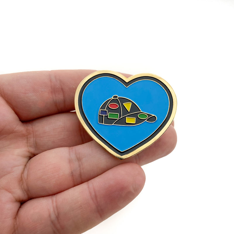 Pin Trading Heart Pin - Pinfinder Club
