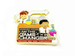GNYC I Am The Game Changer 2019 Adventurer Camporee Pin - Pinfinder Club