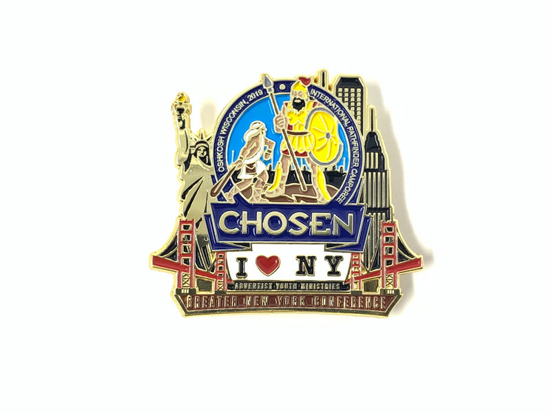 GNYC I Love NY Chosen 2019 Pin Set - Pinfinder Club