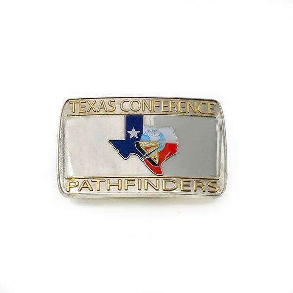 Texas Conference Pathfinders Belt Buckle - Pinfinder Club