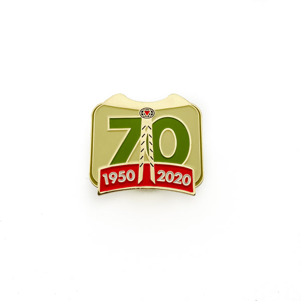 Pathfinder 70th Anniversary Pin - Pinfinder Club