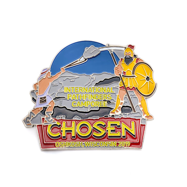 Chosen 2019 Pathfinder Rock Slider Pin (BRL) - Pinfinder Club