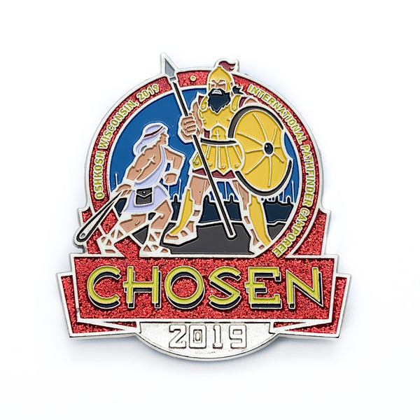 Chosen 2019 Logo Pin (2.5 Inch) - Pinfinder Club