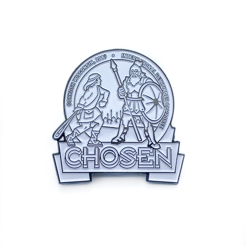 Chosen 2019 PathfinderPaintable White Pin - Pinfinder Club