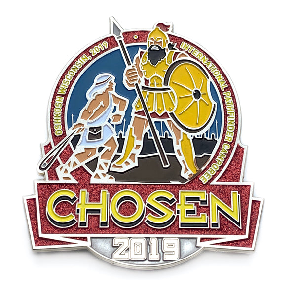 Chosen 2019 Logo Pin 3 inch (BRL) - Pinfinder Club