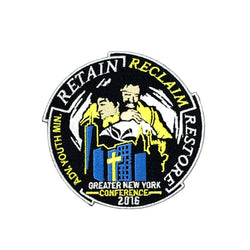 GNYC Retain Reclaim Restore 2016 Patch - Pinfinder Club
