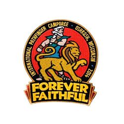 Forever Faithful Oshkosh 2014 Pathfinder Camporee Patch - Pinfinder Club