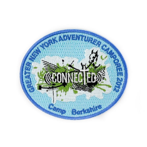 GNYC Connected 2012 Adventurer Camporee Patch - Pinfinder Club