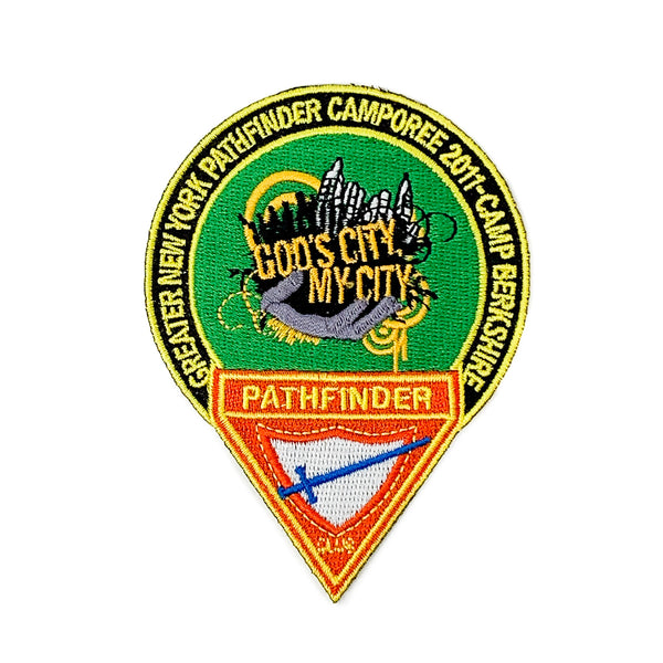 GNYC God's City My City  2011 Pathfinder Camporee Patch - Pinfinder Club