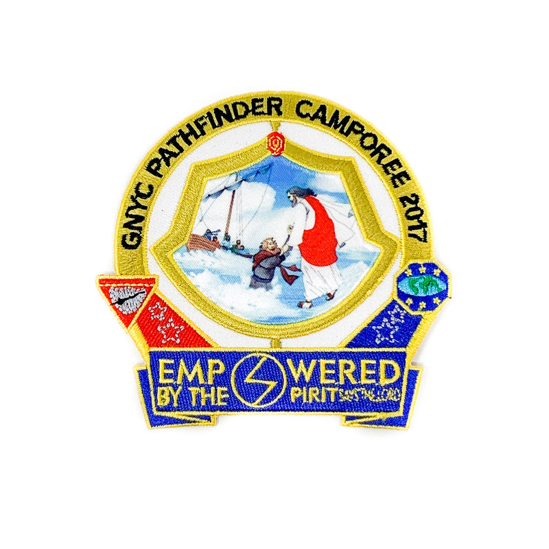 GNYC Empowered by the Spirit 2017 Pathfinder Camporee Patch - Pinfinder Club