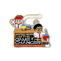 GNYC I Am The Game Changer 2019 Adventurer Camporee Patch - Pinfinder Club