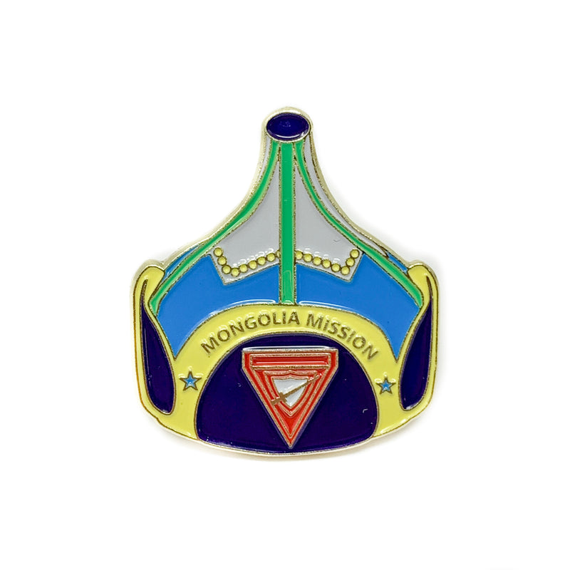 Mongolia Mission Pathfinder Hat Pin Set - Pinfinder Club