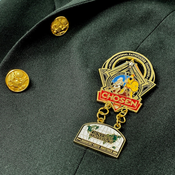 GC Oshkosh Chosen Pathfinder Pin (Limited Edition) - Pinfinder Club
