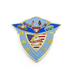 Kenyan California Pathfinder Pin