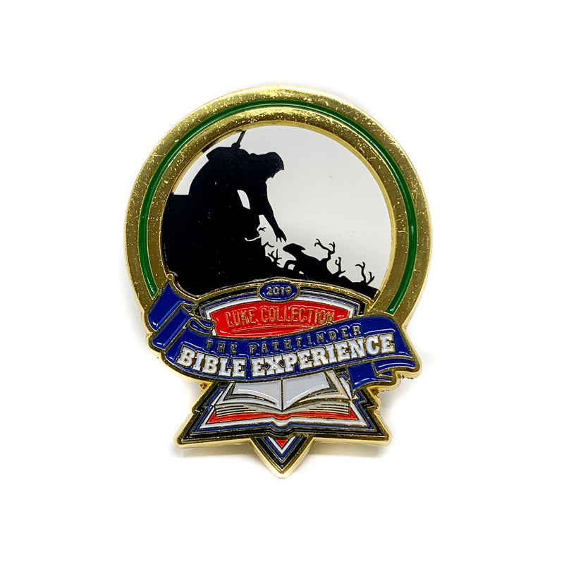 Pathfinder Bible Experience 2019 Pin (The Lost Sheep) - Pinfinder Club
