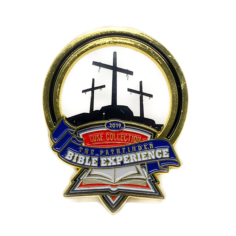 Pathfinder Bible Experience 2019 Pin (Crucifixion) - Pinfinder Club