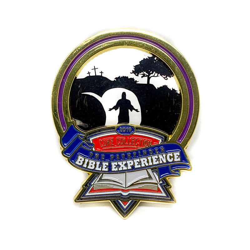 Pathfinder Bible Experience 2019 Pin (Resurrection) - Pinfinder Club