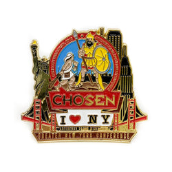 GNYC I Love NY Chosen 2019 Pin (Red) - Pinfinder Club