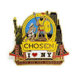 GNYC I Love NY Chosen 2019 Pin (Yellow) - Pinfinder Club