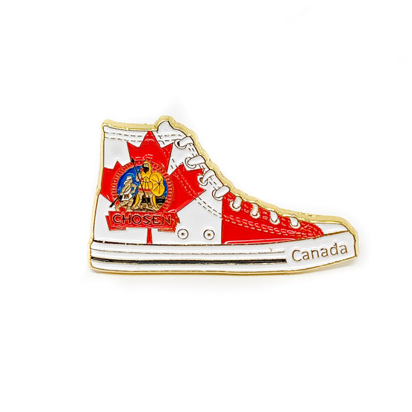 Pathfinder Chosen Sneaker Pin (Canada) - Pinfinder Club